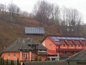 panouri solare fotovoltaice pensiune glod maramures