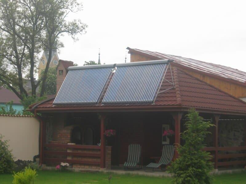 Panouri solare termice sistem 2 persoane