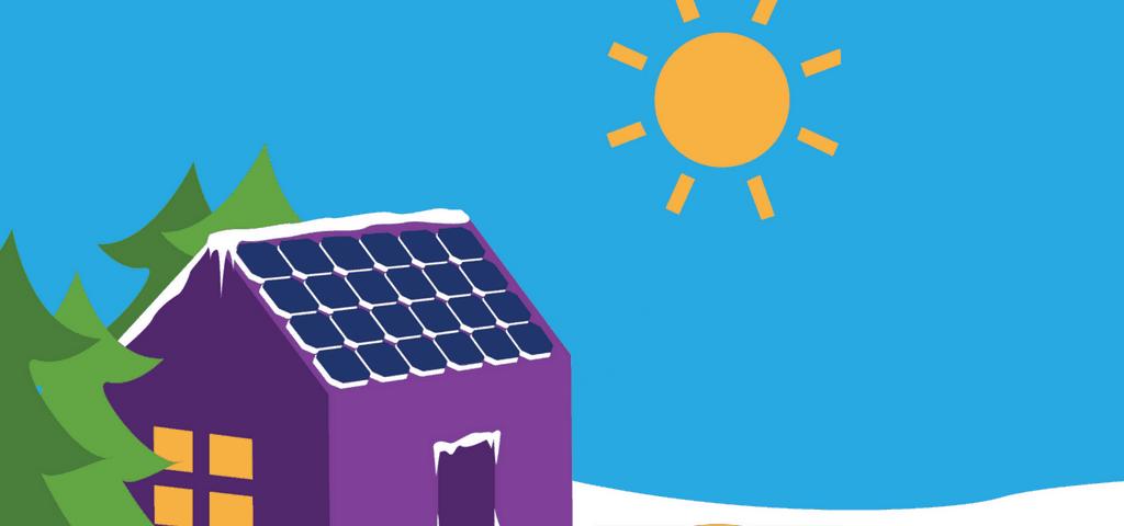 Functionarea panourilor solare iarna