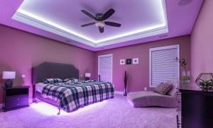 Lumini casa inteligenta dormitor loxone