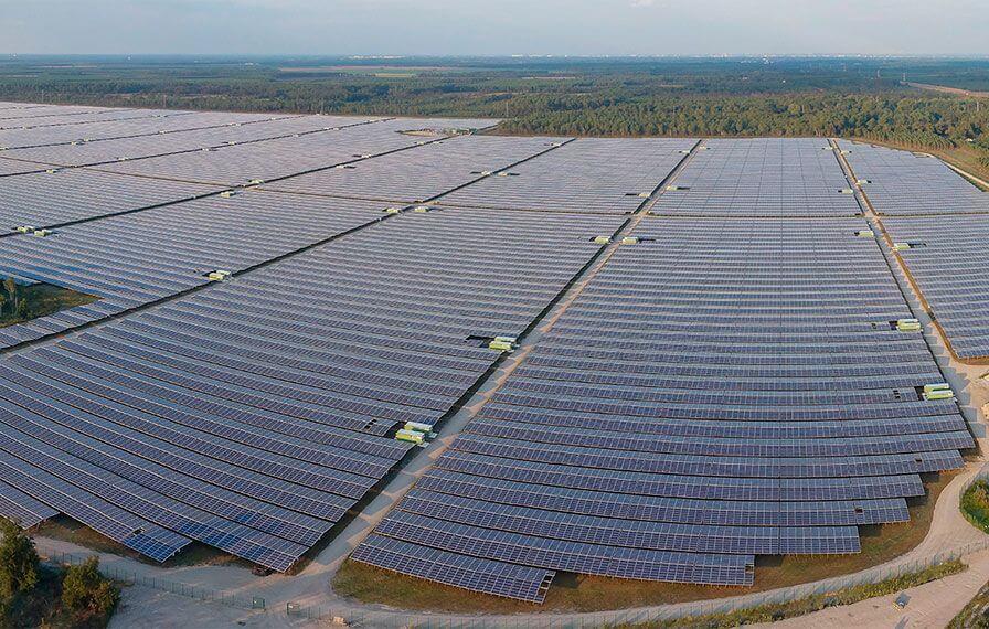 parc fotovoltaic europa franta