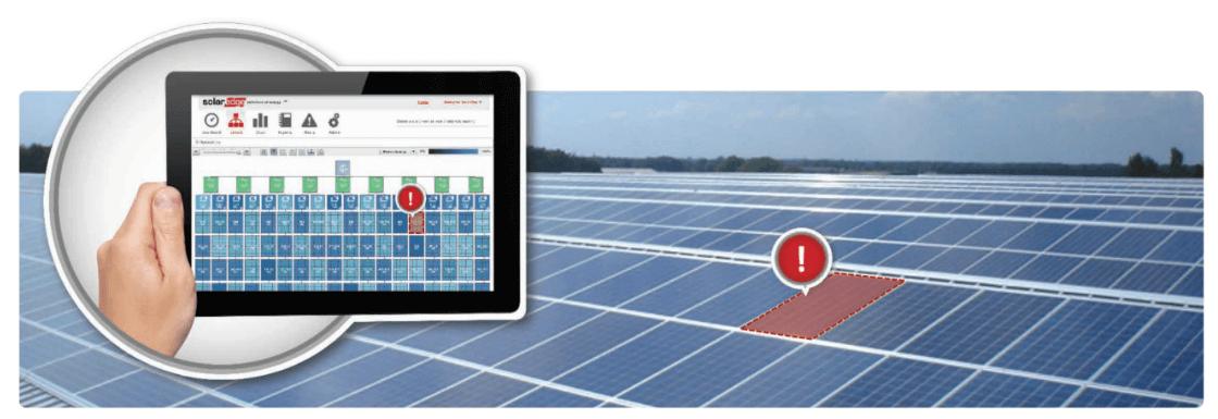 sistem solaredge monitorizare android ios