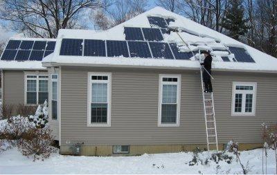 grebla panouri solare zapada