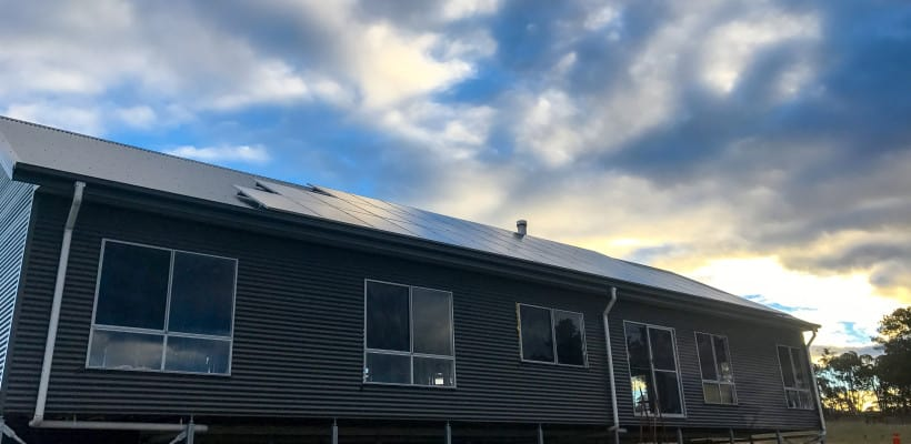 panouri solare pe nori