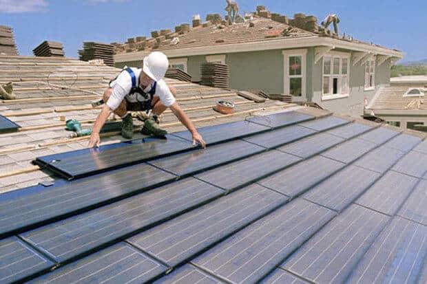 constructie noua panouri solare